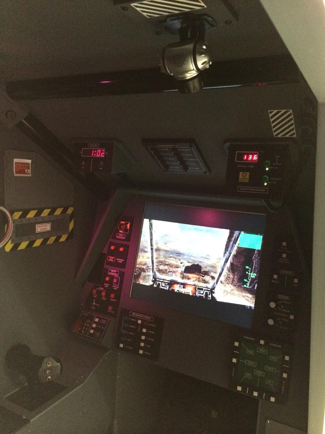 Mechwarrior Cockpit Flight Sim Pit Builders