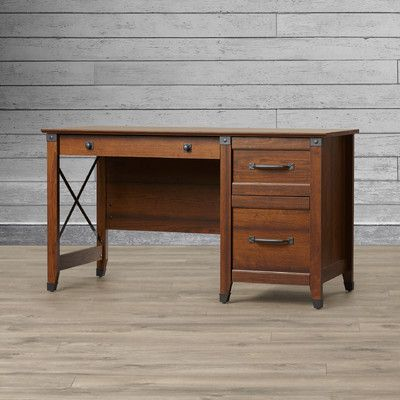Loon Peak Newdale Computer Desk with 3 Drawers & Reviews | Wayfair