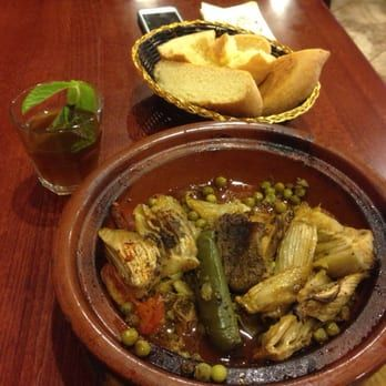 Photo Of Casablanca Halal Restaurant Revere Ma United States Beef Tagine And Mint Tea Beef Tagine Tagine Halal