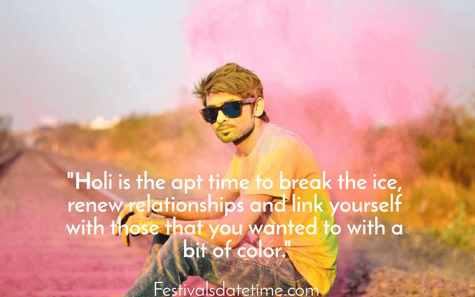 Holi Quotes For Best Friends Holi Wishes Quotes Festival Quotes Holi Wishes In English