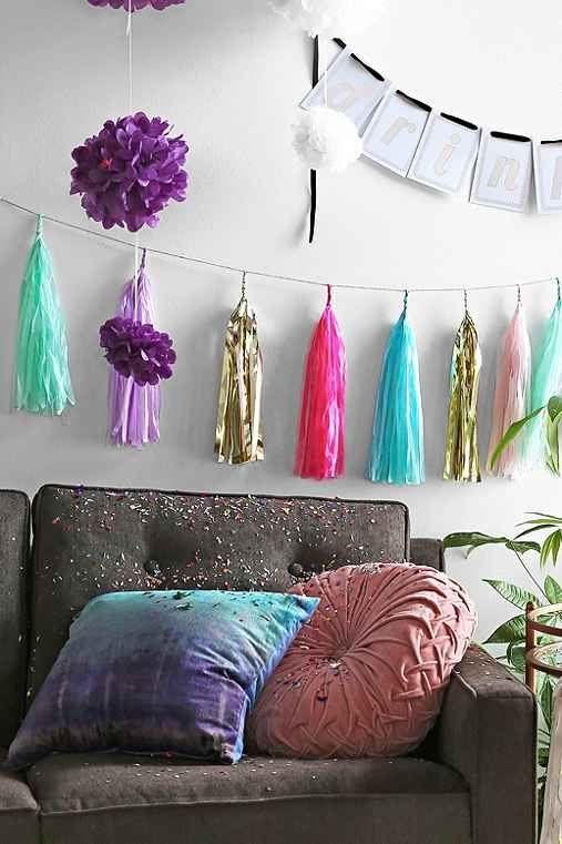Studio Mucci May Classic Fringe Banner - Urban Outfitters