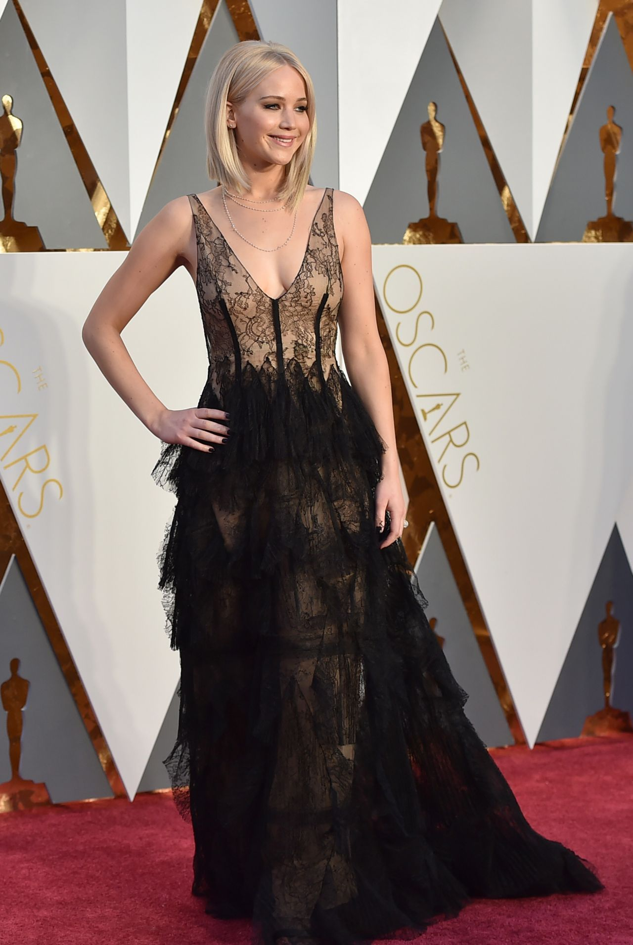 Jennifer Lawrence – Oscars 2016 in Hollywood, CA 2/28/2016 ...