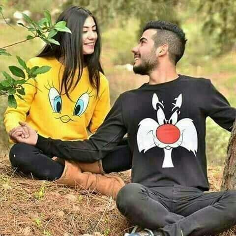 A7med Al7aitham سألني صديقي ما الفرق بين الإعجاب والحب فأجبته في البداية سوف تعشق عين ها وذلك هو الإعجاب Men Model Autumn Clothes Graphic Sweatshirt