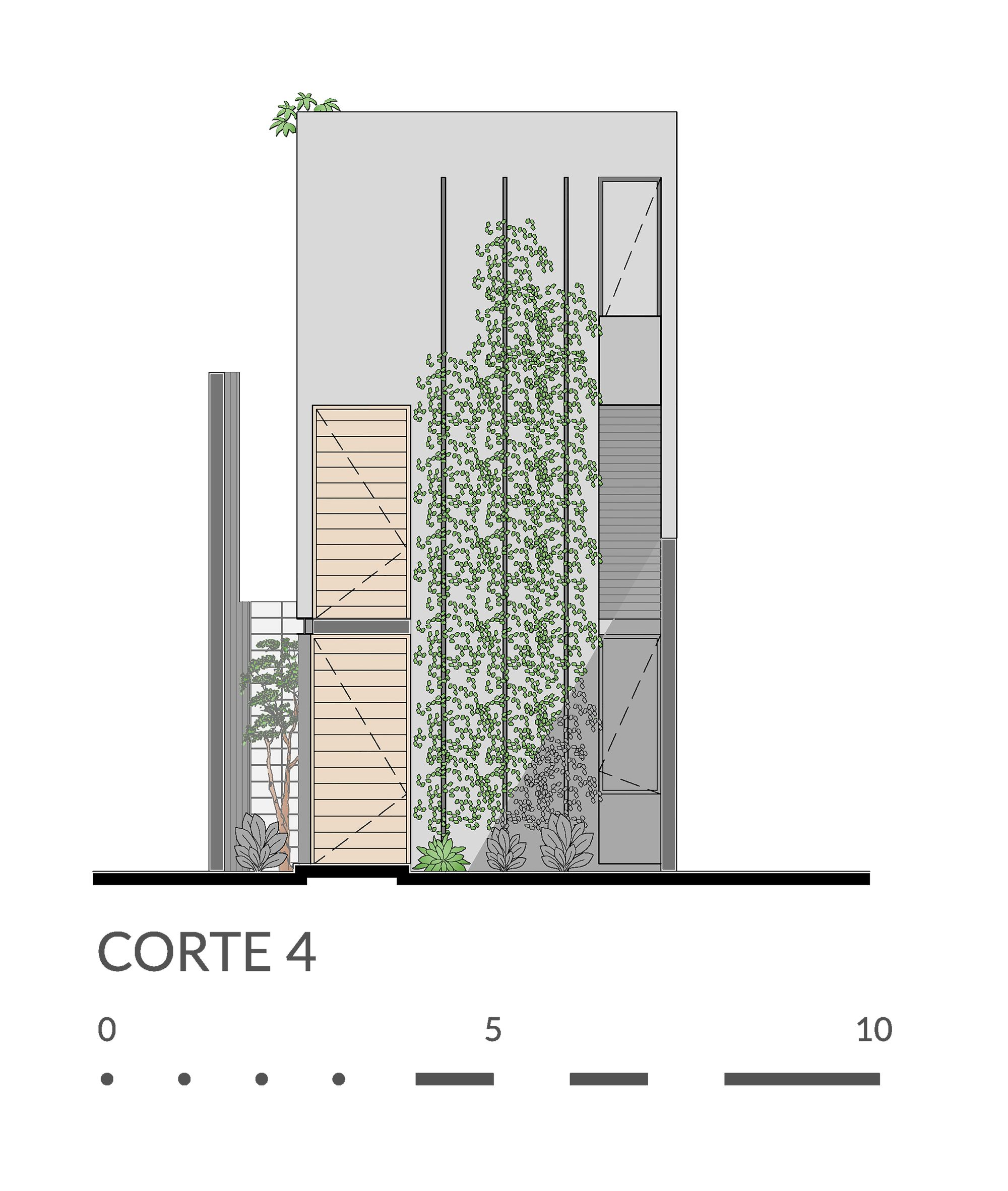 Imagen 37 de 37 de la galería de Casa Desnuda  / Taller Estilo Arquitectura. Corte 4