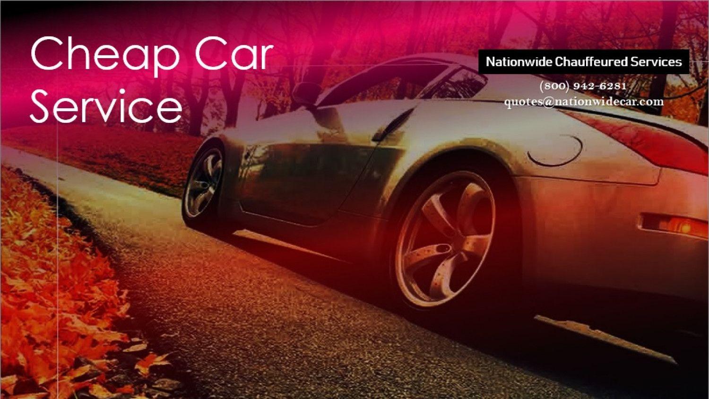 Cheap Car Service (800) 9426281 Transportation
