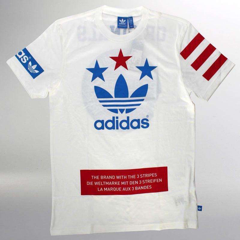 Camiseta adidas Street Logo Branca