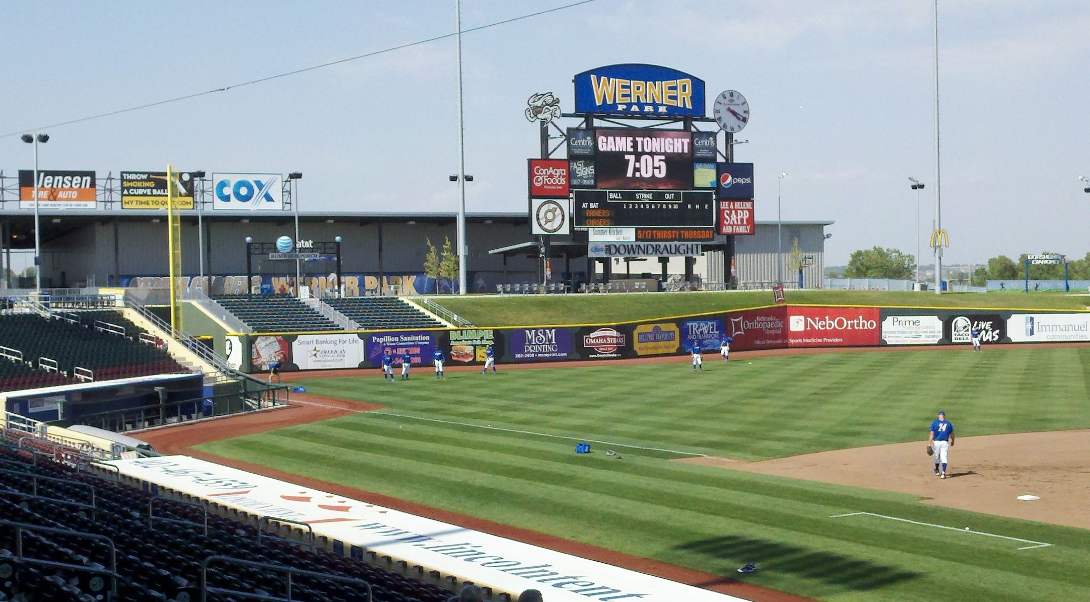 Werner Park In Papillion Nb Minor League Home Of The Omaha Storm