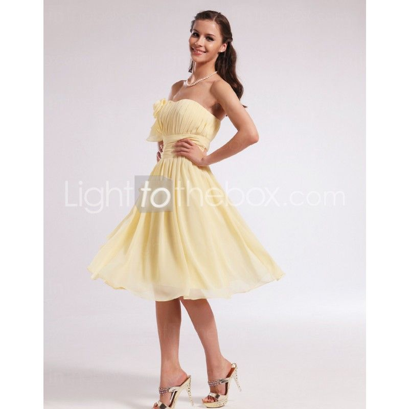 Sweetheart Knee-length A-line Homecoming Dresses With Draping. great ...