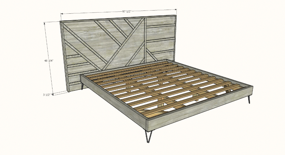 We make a seriously heavy duty bed. Suitable for years of