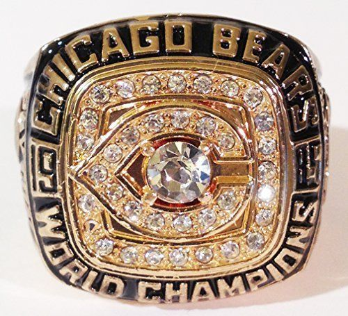 Robot Check Super Bowl Rings Chicago Bears Walter Payton