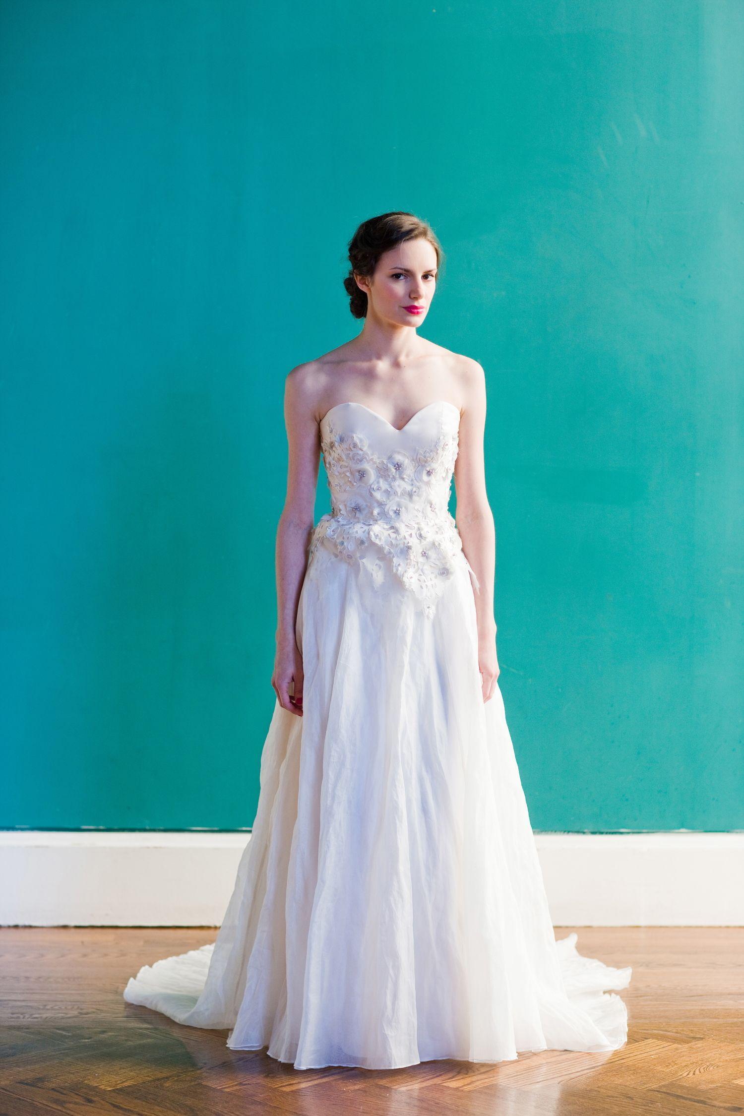 Fresh Wedding Dress Bustier | Wedding Photography