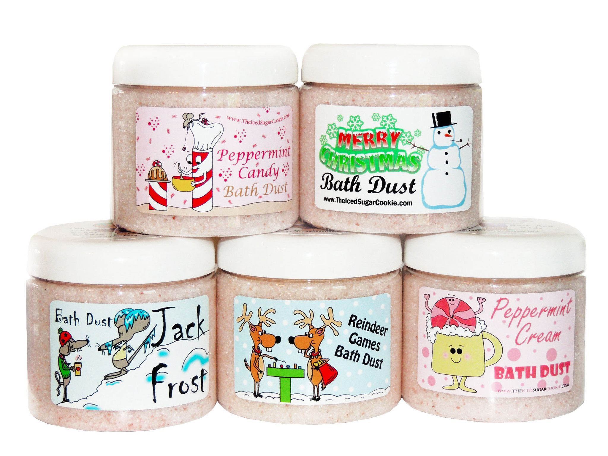 Jack Frost Bath Dust Weird Stuff Ice Cream Floats Pink