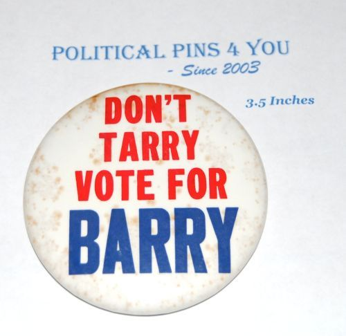 BARRY GOLDWATER Campaign Pin Pinback Button Political Presidential