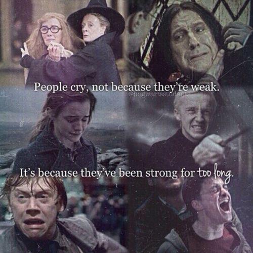Die Leute weinen nicht, weil #interessen