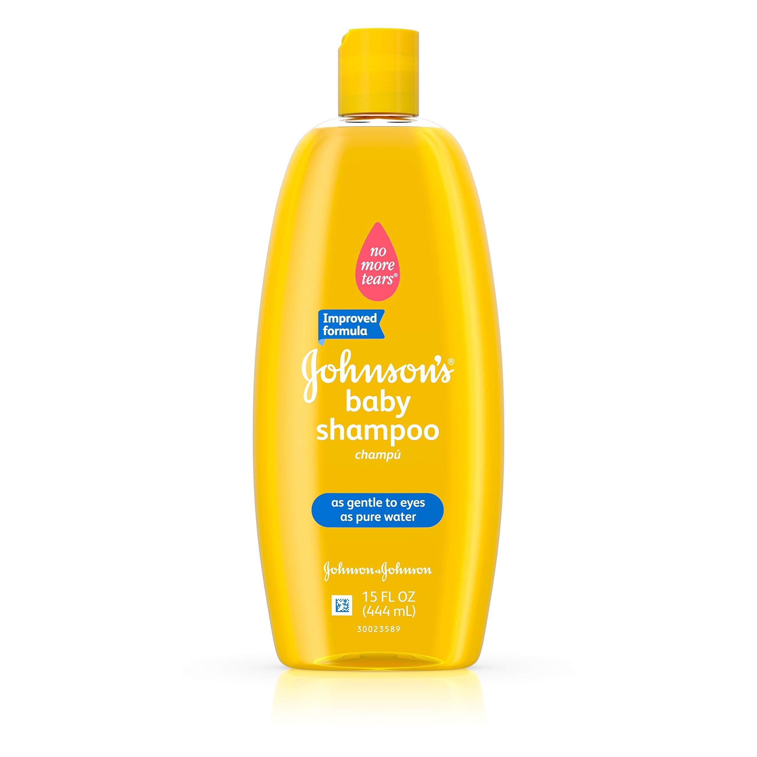 Johnson's Baby Gentle Cleansing Shampoo, 15 Fl. Oz. (Pack