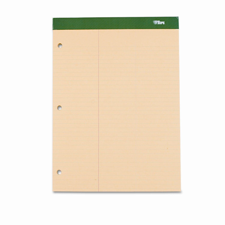 Double Docket w/Extra Stiff Back, Law Rule, Letter, 100 Sheets