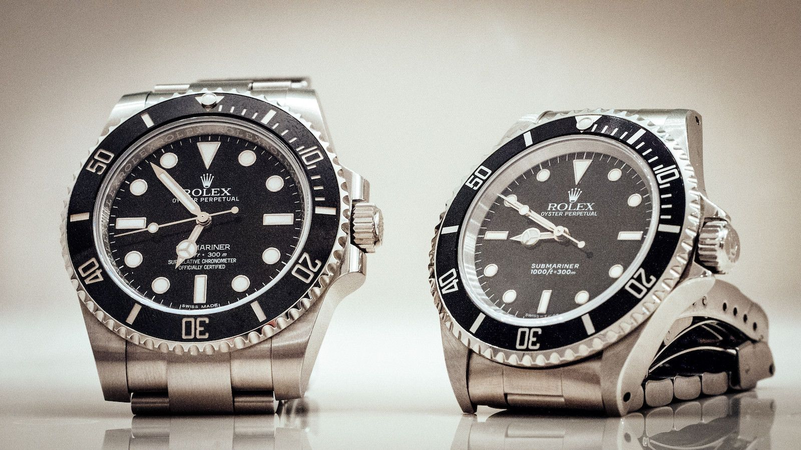 best sneakers fda04 ba1ae rolex] my new-to-me 14060 submariner next to the ceramic 114060 ...