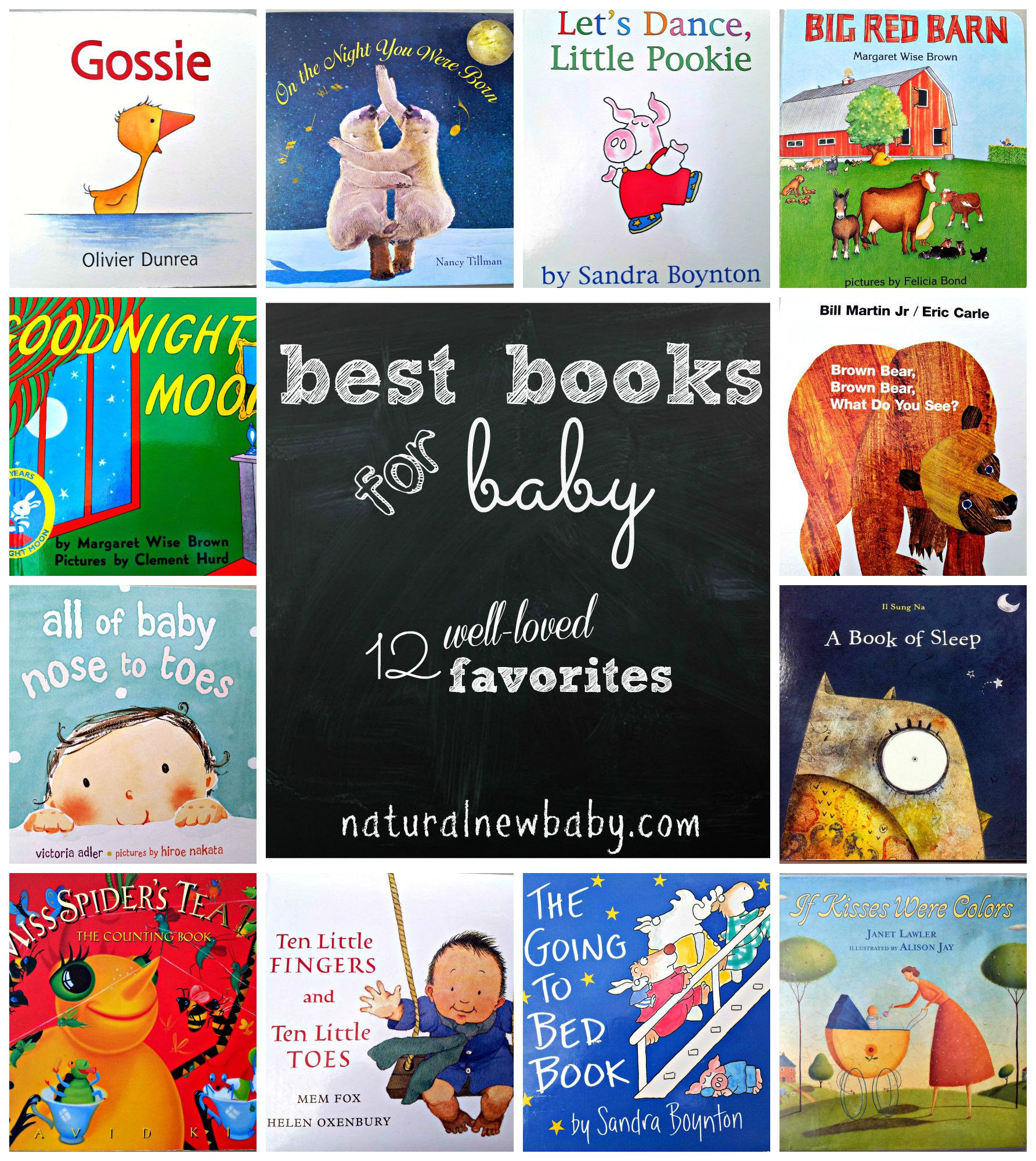 Best Books For Baby 12 Well Loved Favorites