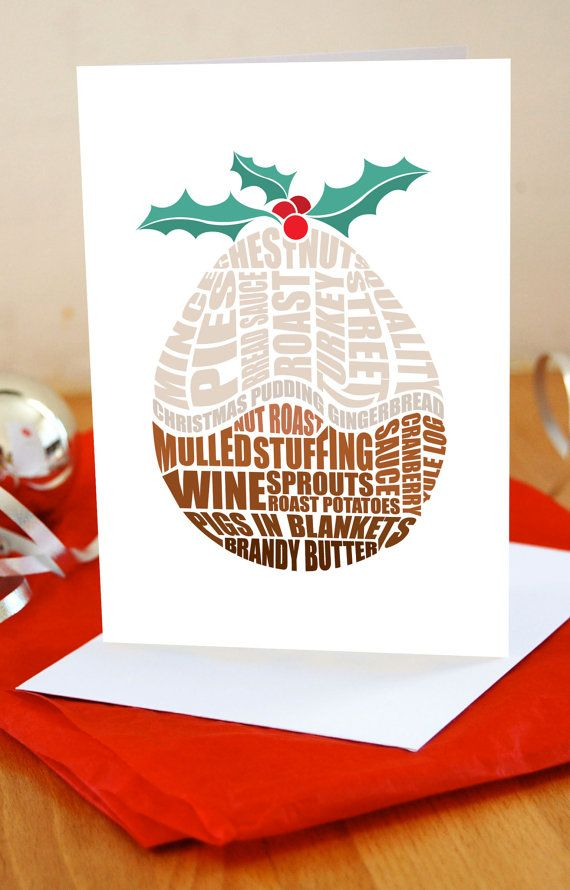 3 Super Cute Foodie Christmas Cards | Christmas Cards | Pinterest ...