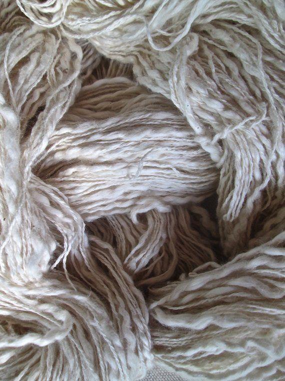 Novelty Yarn Undyed 100 Organic Cotton Slub Yarn Thread Thick N