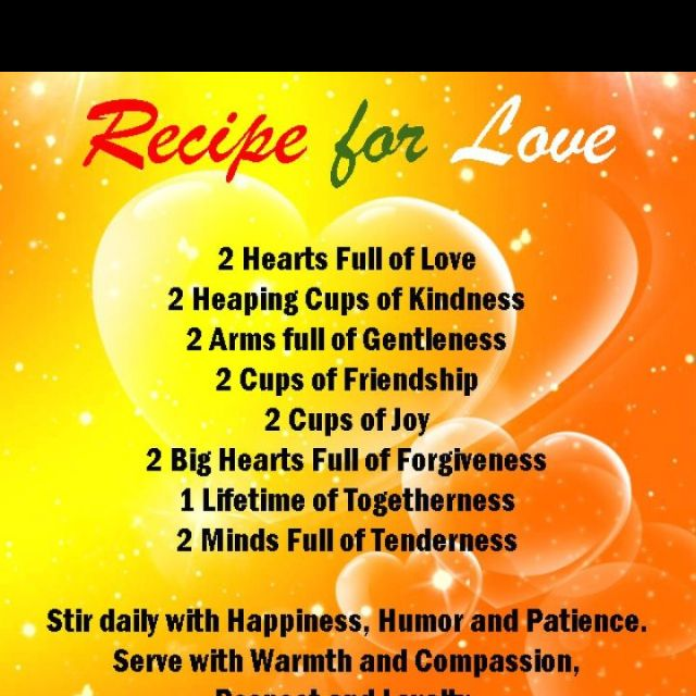 Garden of life quotes Recipe for Love