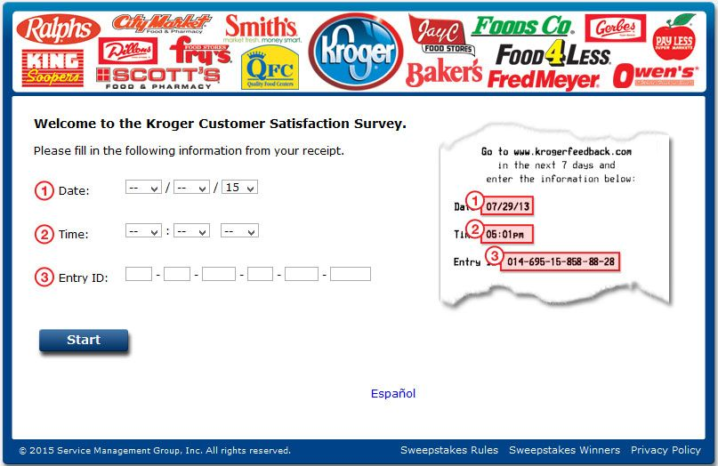 WwwKrogerfeedbackCom  Kroger Customer Satisfaction Survey