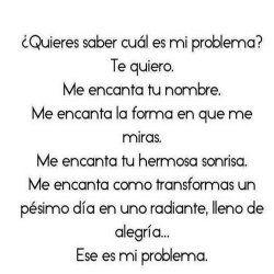 cual es mi problema?