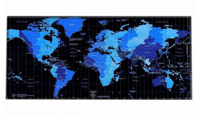 World map rubber mouse pad large mouse mat desk mats big mousepads world map rubber mouse pad large mouse mat desk mats big mousepads gaming rug xl for gumiabroncs Gallery