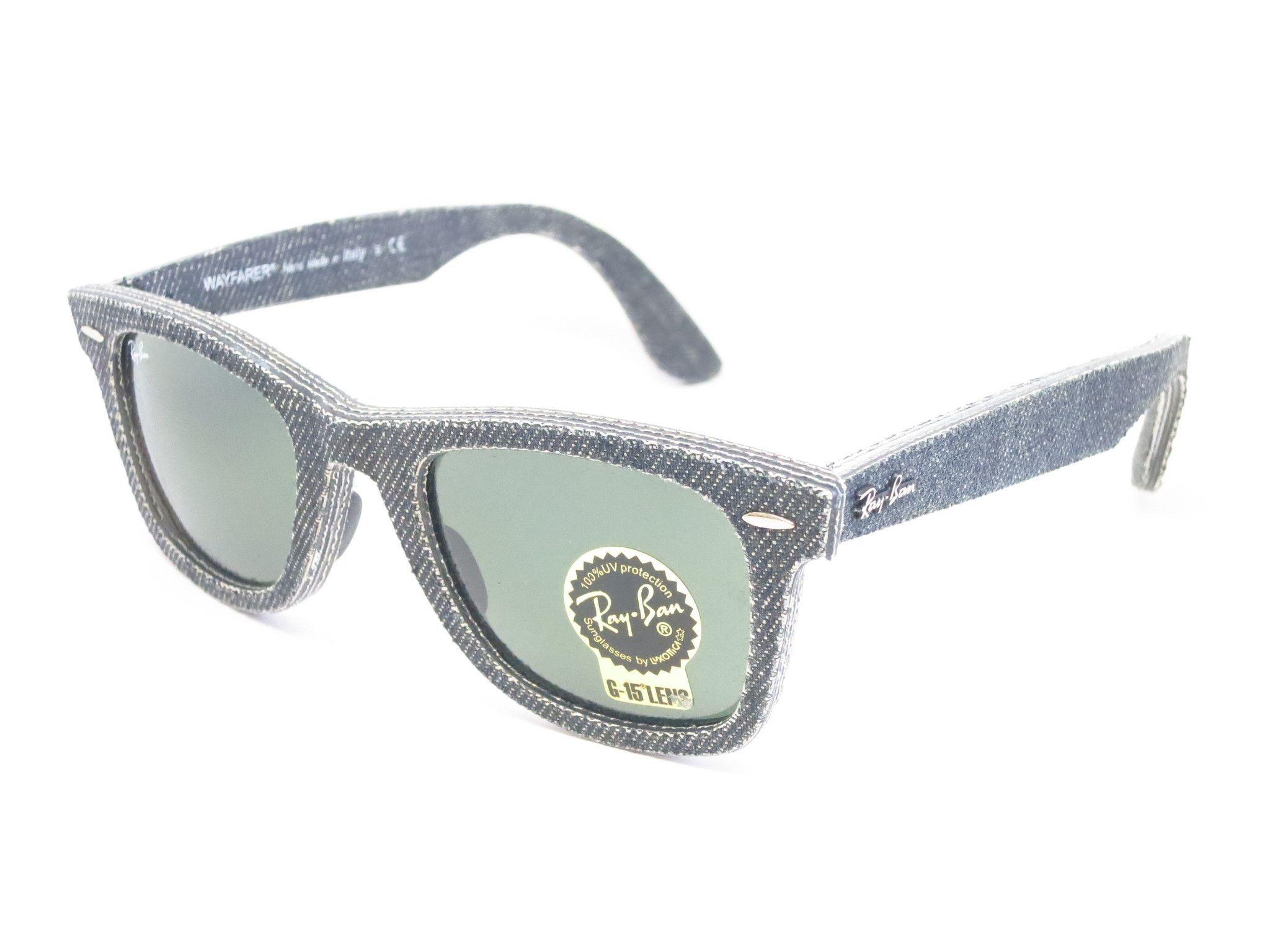 edf75447cd Ray-Ban RB 2140 Original Wayfarer 1162 Jeans Black Sunglasses ...