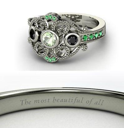 Mulan princess ring