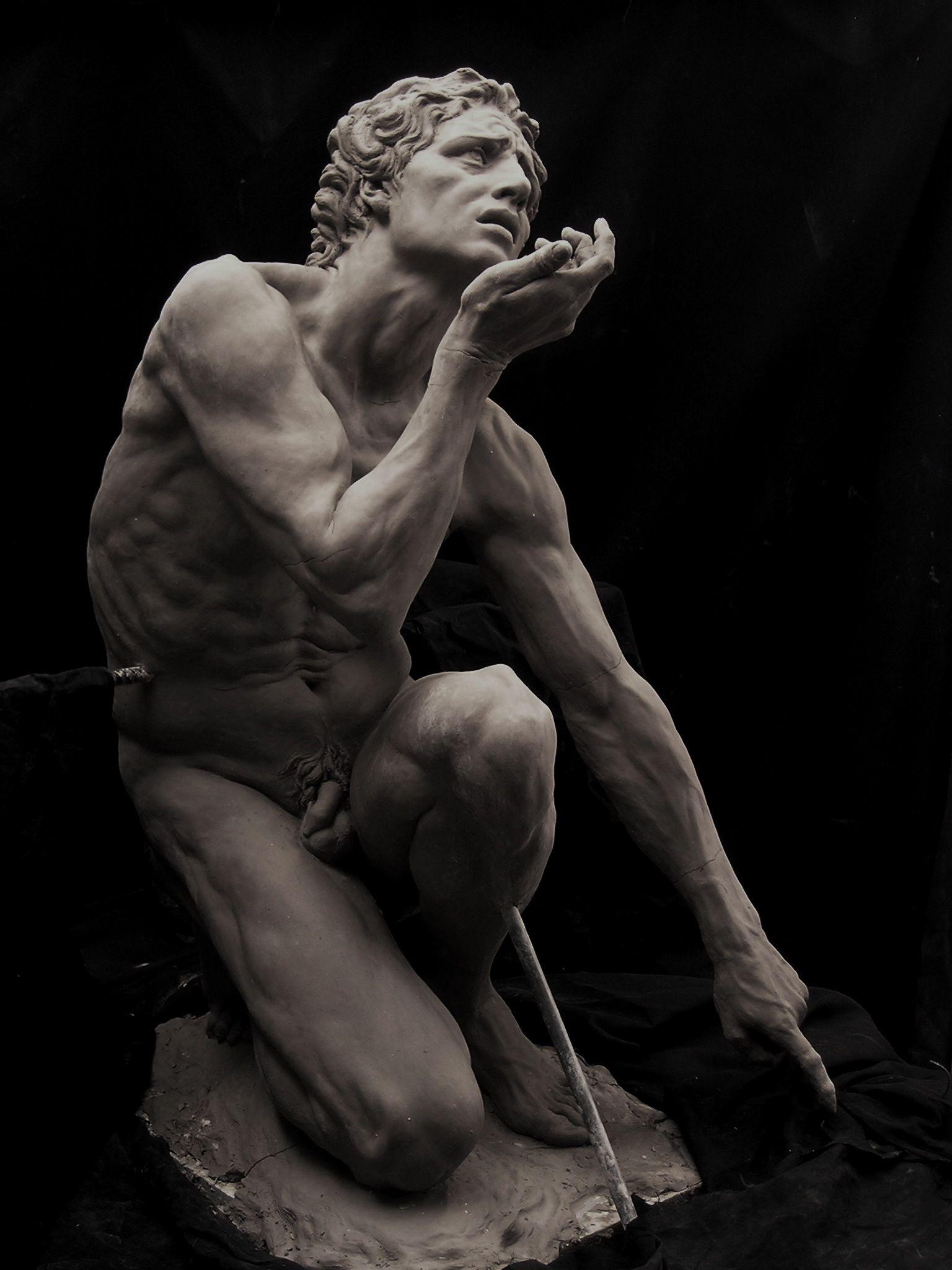 Cody Swanson Adam   Escultura   Pinterest   Escultura, Anatomía y ...