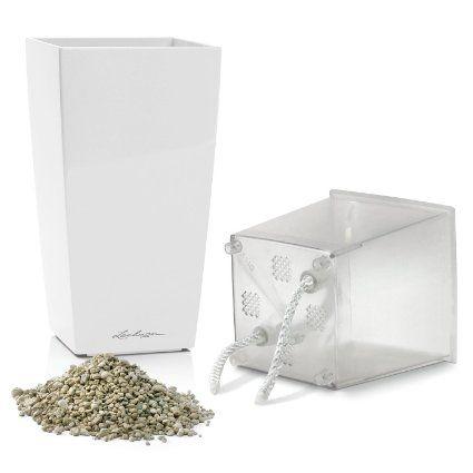 Amazon Com Lechuza Mini Cubi Premium All In One White 400 x 300