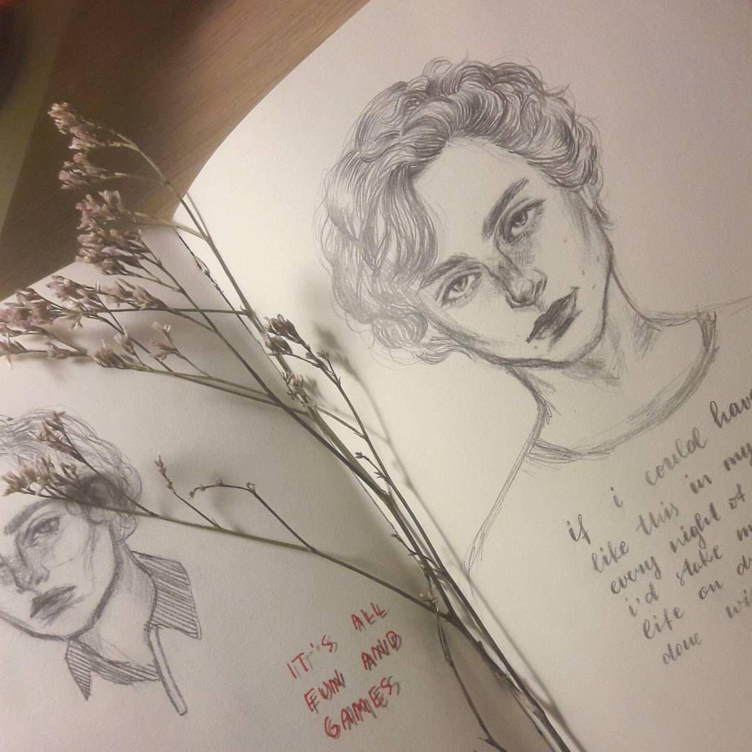 Sketch Aesthetic Inspiration Art Inspo