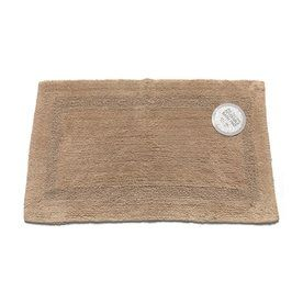 Carnation Home Fashions 34 In X 21 In Reversible Linen Cotton Bath