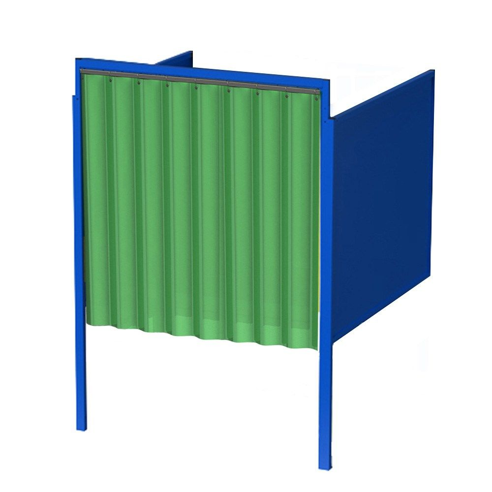 Welding Booth Curtain Front Wall Mount Wall Mount Curtains