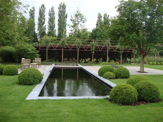 Tuinen de muynck tuinaanleg tuinonderhoud zwemvijvers zwemvijvers pinterest - Bassin tuin ontwerp ...