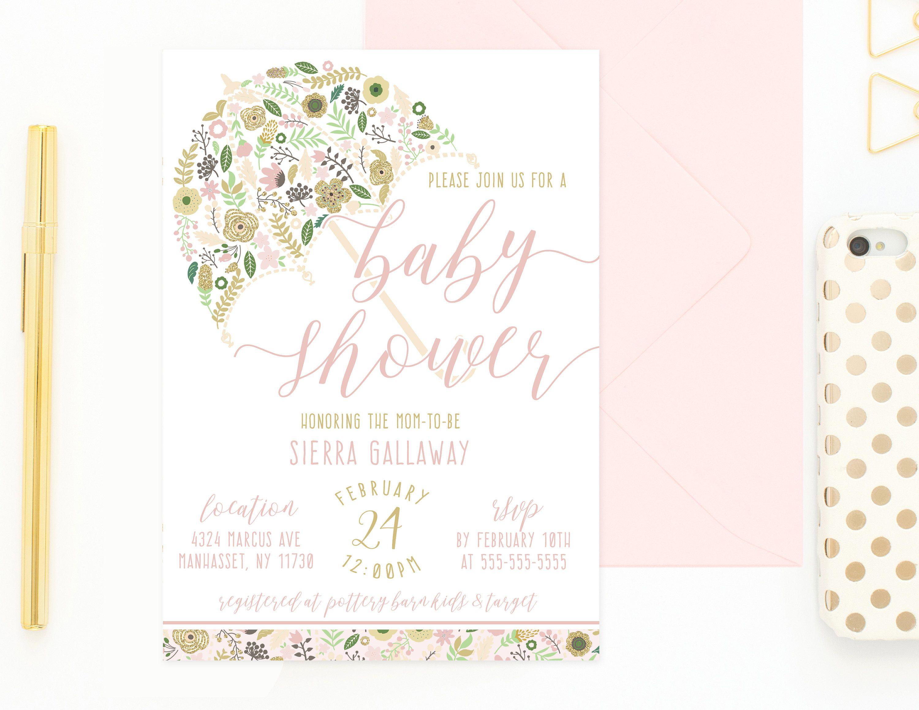 b home invitation free shower baby print you printable pink listing invitations to gold at thank product cards bunny and white
