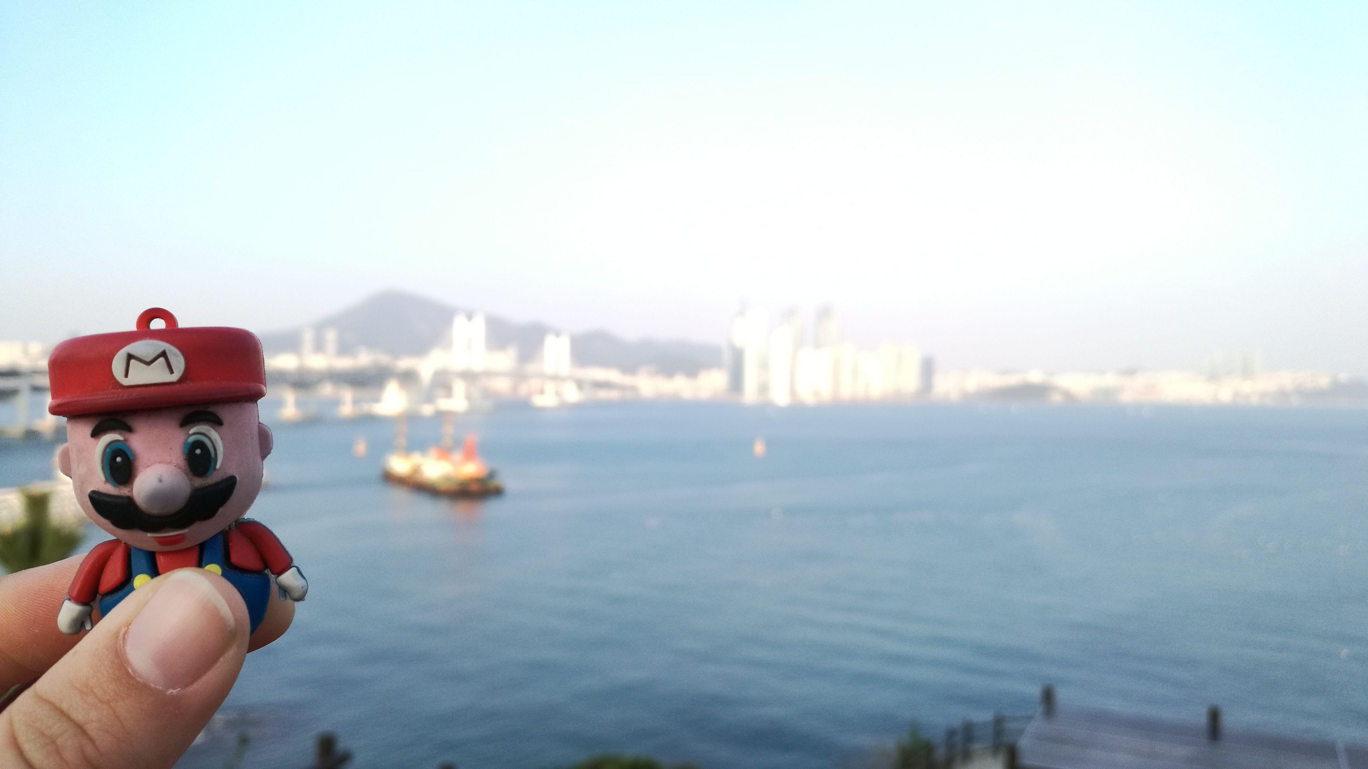 En el puerto de Busan