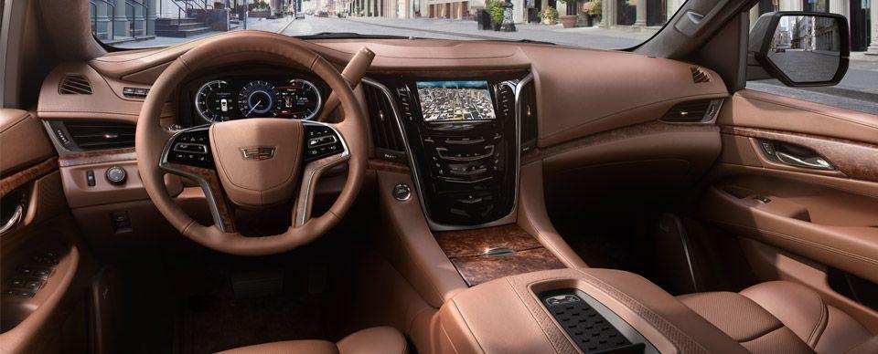 2018 Cadillac Escalade Interior Cars Trucks Suvs Pinterest