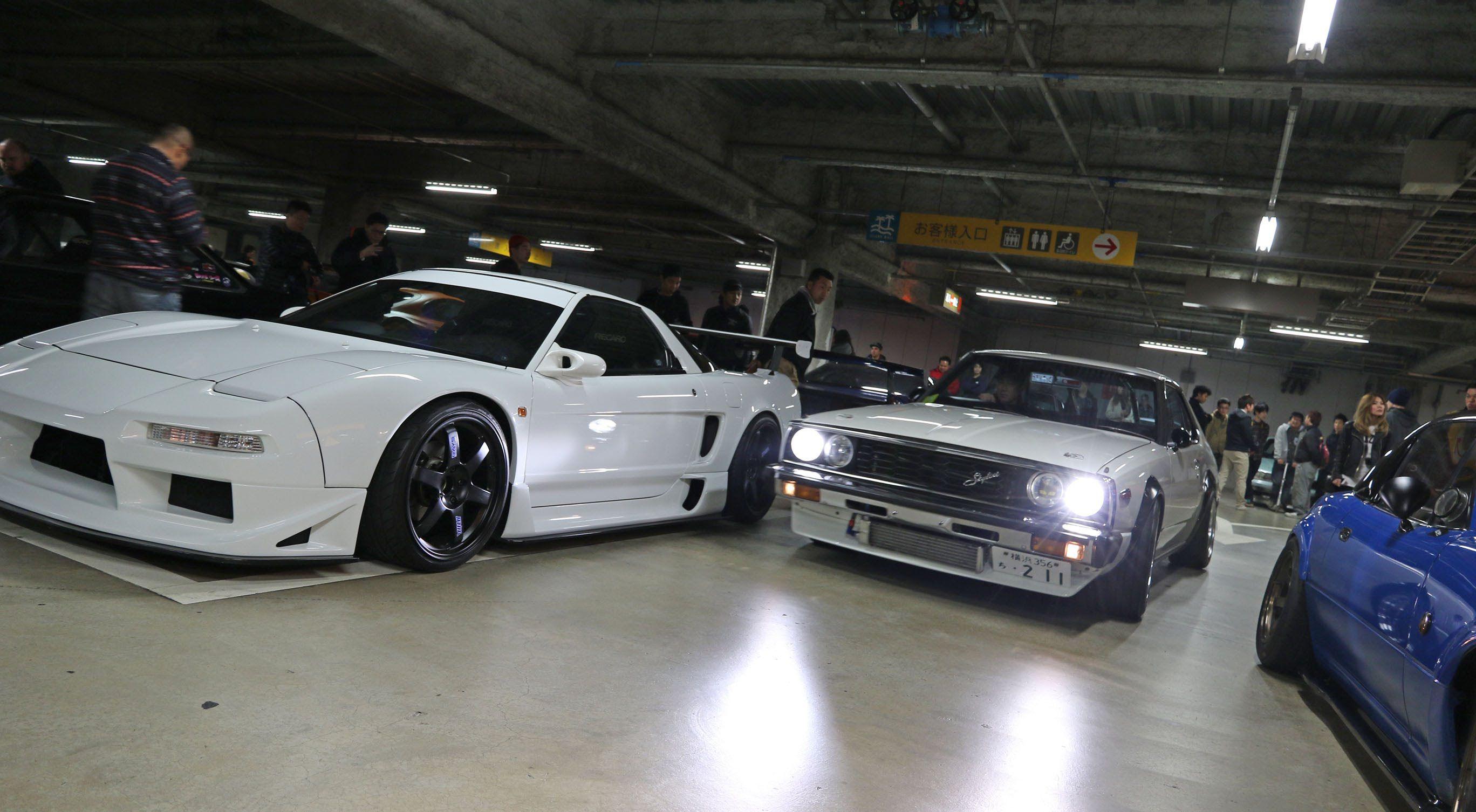 Tokyo drift in real life fresh tokyo car meet 2016 日本