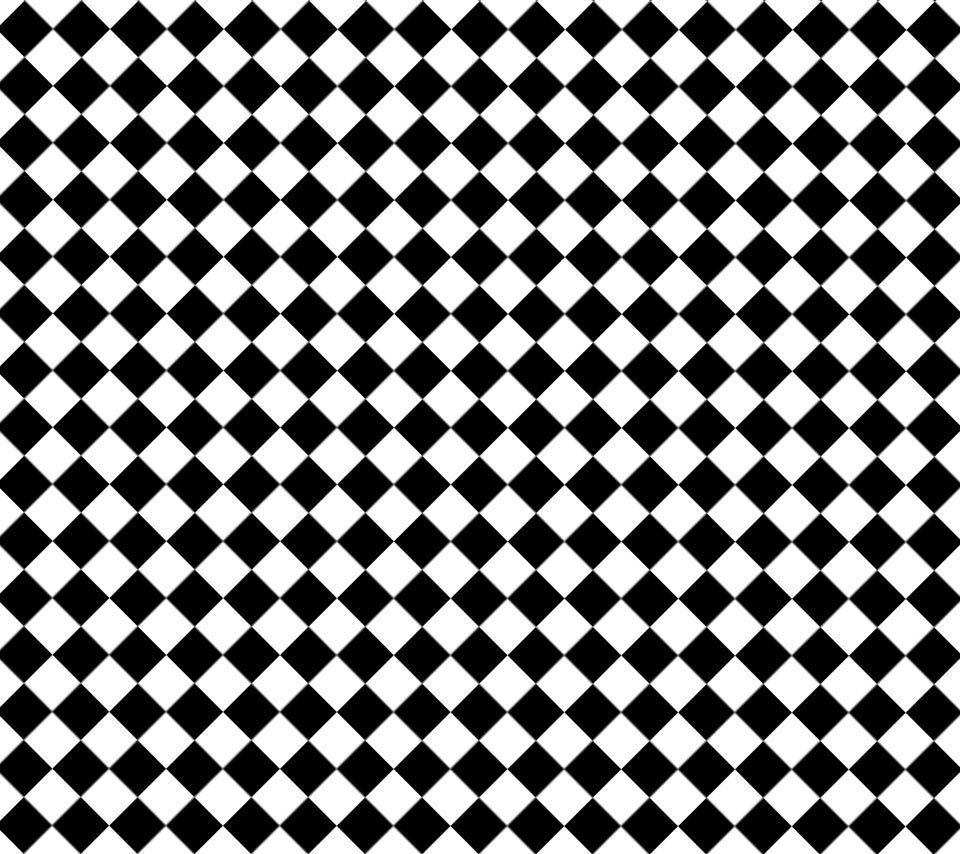 Black N White Dizzy Pattern