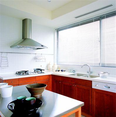 cortina veneciana de aluminio para cocina moderna cortinas - cortinas para cocina modernas
