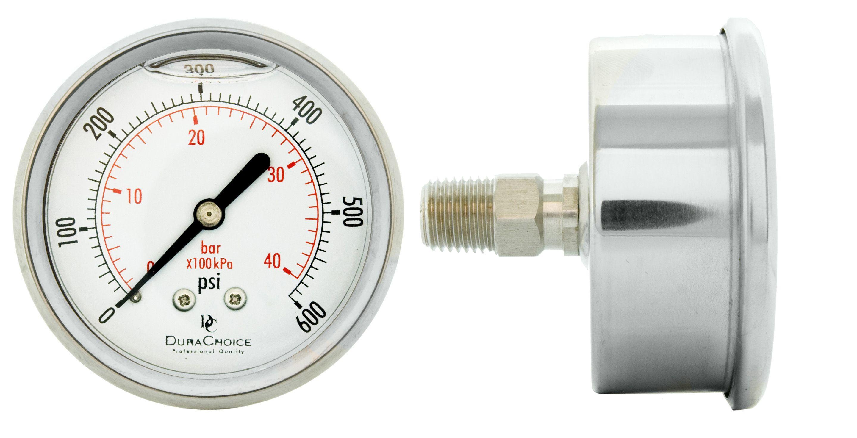 Liquid Filled Vs Dry Pressure Gauges What S The Difference Pressure Gauge Gauges Liquid
