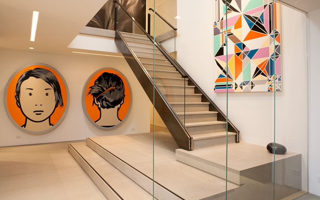 Jennifer Post Design – Goldring  #interiordesign #painting #art #gallerynine5 #artandesign