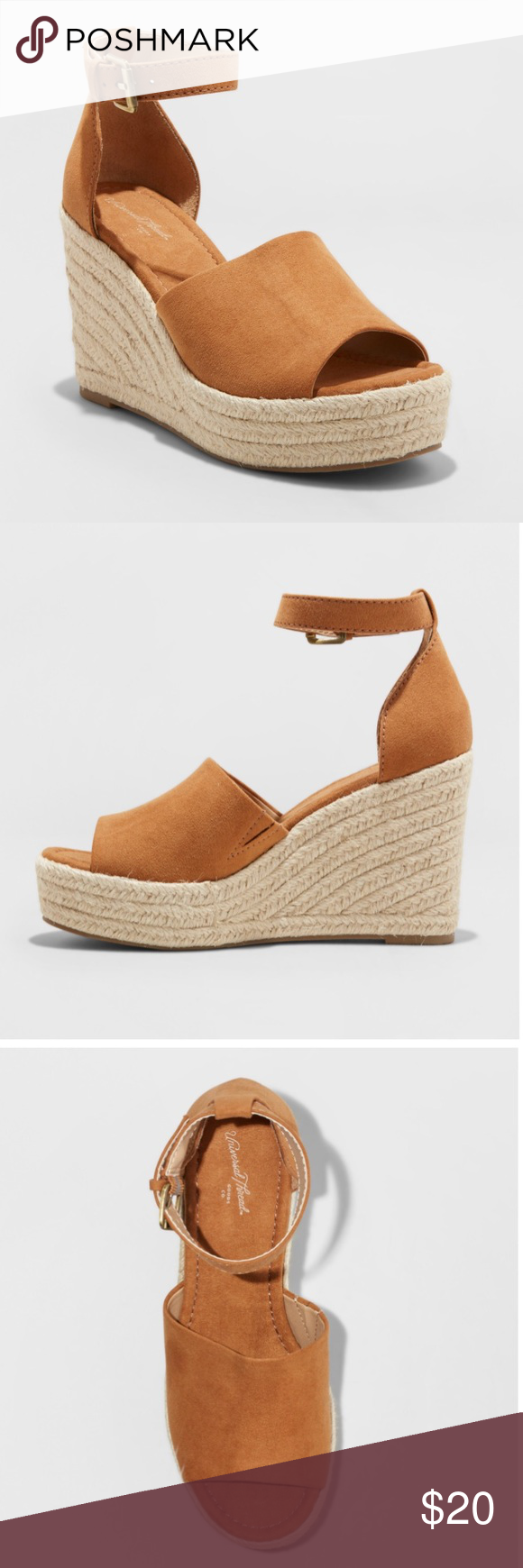 7f4b44dc47 Emery Espadrille Sandals- Universal Threads NWT Espadrille Wedge Sandals  Universal Thread Shoes Espadrilles