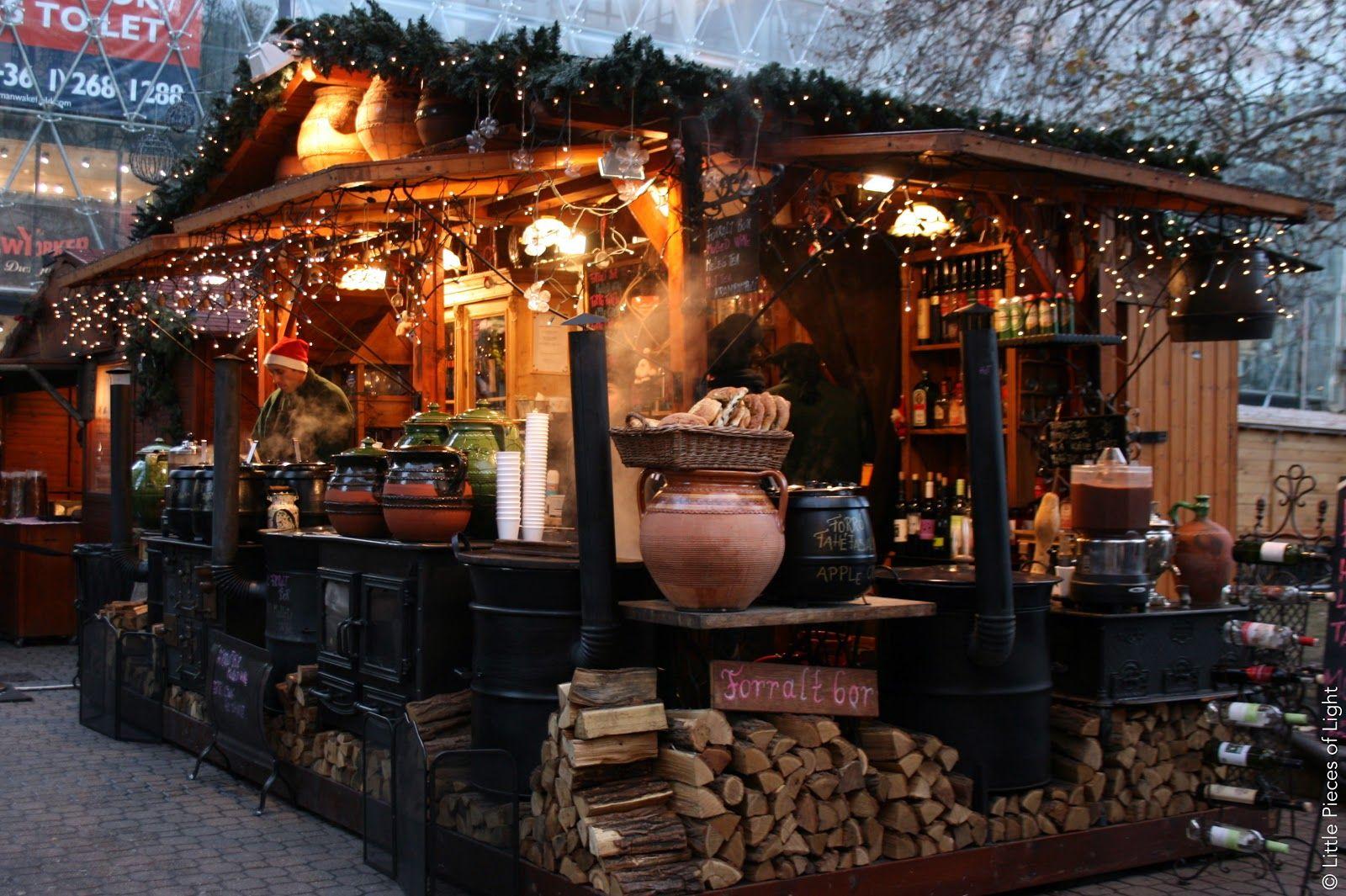 Mulled Wine Christmas Market.Budapest Christmas Markets Mulled Wine Stand Ghorayeb
