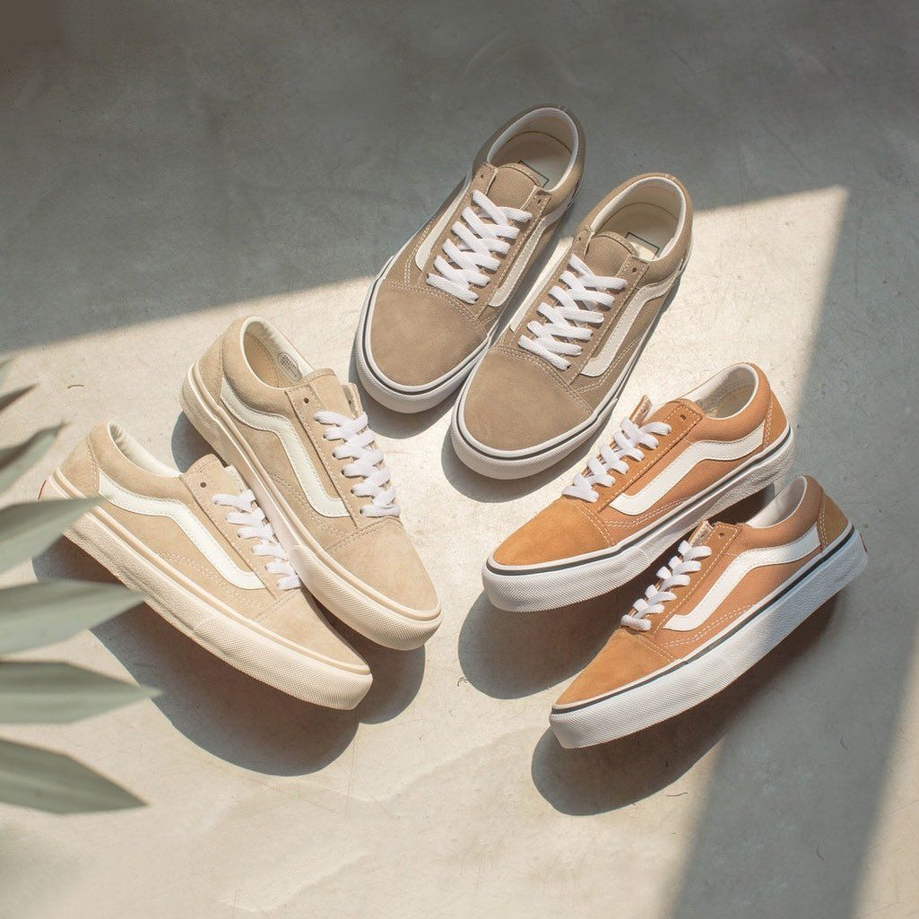 vans old skool beige