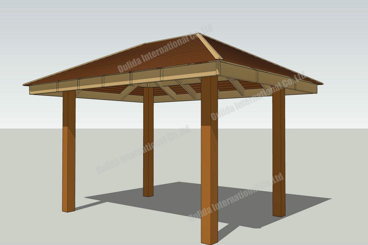 Free gazebo plans 14 | Gazebo plans, Wooden gazebo plans ...