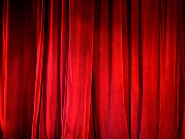 Kate Photography Backdrop Stage Show Red Curtain Background