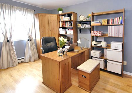 How To Design A Home Office Layout: Home Office Layout Ideas  Pictures,Living Room